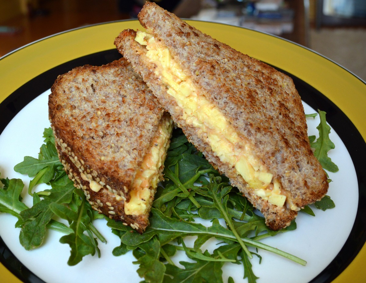 Golden Egg Salad Sandwich Goose Gadgets