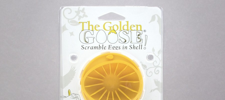 Scramble eggs inside the shell and make Golden Eggs!